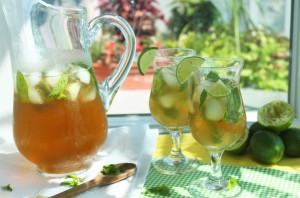 Virgin Mojito Iced Tea Recipe holistic nutrition st clair west forest hill hillcrest toronto