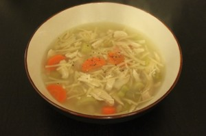 Chicken Noodle Soup recipe holistic nutrition st clair toronto