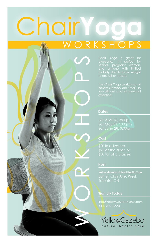 Chair Yoga Classes Yellow Gazebo Natural Health Care